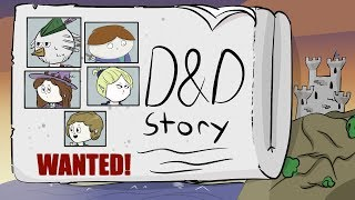 D&D Story Animated: Breaking Into The Castle