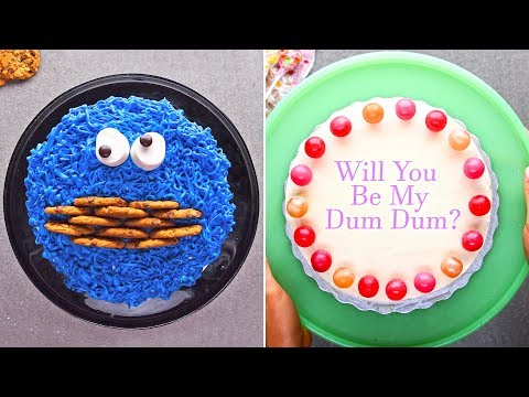 7 quick and easy cake upgrades that steal the show! | 2018 Cake Hacks by So Yummy