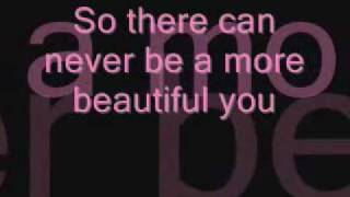 Jonny Diaz-A More Beautiful You with lyrics on screen
