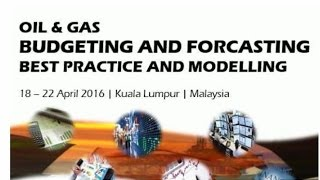 Oil  Gas Budgeting  Forecasting