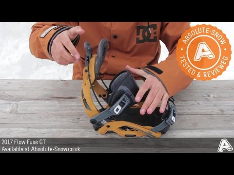 2016 / 2017 | Flow Fuse GT Snowboard Bindings | Video Review