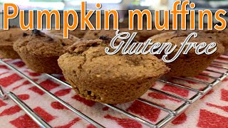 dairy free egg free pumpkin chocolate chip muffins
