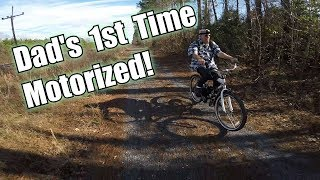 Two Bikes, Two Trails... One Crash!