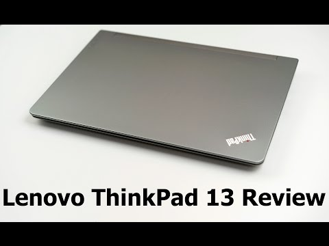 Lenovo ThinkPad 13 Review