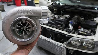 JZX100 Chaser Goes Top Mount Turbo!
