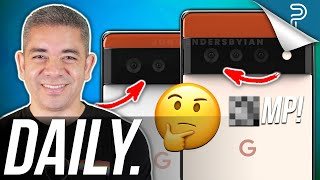 FINALLY a Pixel 6 Camera Upgrade, Apple Watch Series 7 Redesign & more!