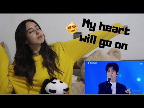 dimash kudaibergenov - My heart will Go on _ REACTION