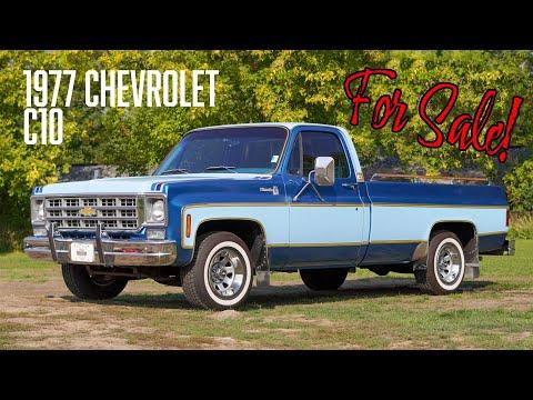 1977 Chevrolet Silverado (CC-1393601) for sale in Milford, Michigan