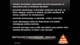 preview picture of video 'Szkolenie wstępne BHP Zdzieszowice'