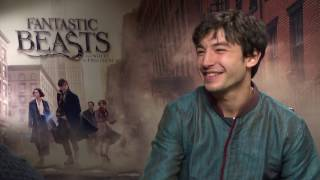Ezra Miller - Fantastic Beasts and Where to Find Them Exclusive Interview