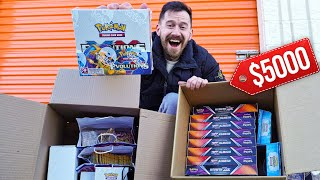 I Bought A $1,000 Abandoned Storage Unit FILLED WITH VINTAGE POKEMON CARDS!! ($5,000+)