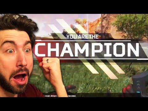 You NEED To Try This Game.  Day 1 CHAMPION!  | Apex Legends