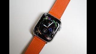 苹果最新款AppleWatch4体验:一摔就碎