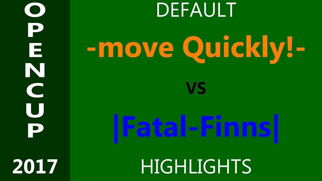 -mQ!- vs |Fatal-Finns| - Highlights ScrimBase OC 2017