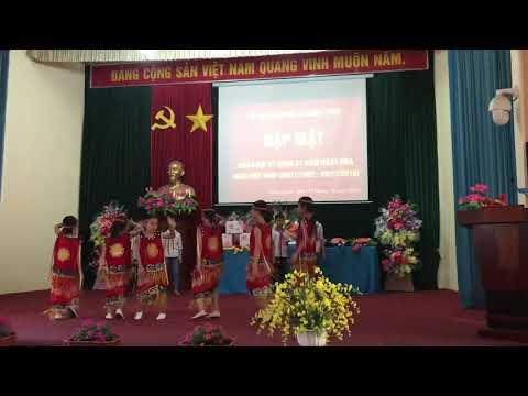 Hát múa gặp mặt ngày nhà giáo Việt Nam 20/11/2019