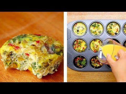 Healthy Breakfast Egg Muffins, Muffin Tin Eggs