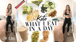 Keto What I Eat in a Day 2019