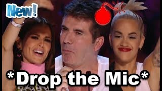 Top 10 BEST *UNBELIEVABLE UNEXPECTED MOMENTS* on X FACTOR & GOT TALENT World Wide!
