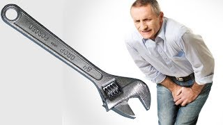 Man Gets His Private Parts Stuck In A Wrench
