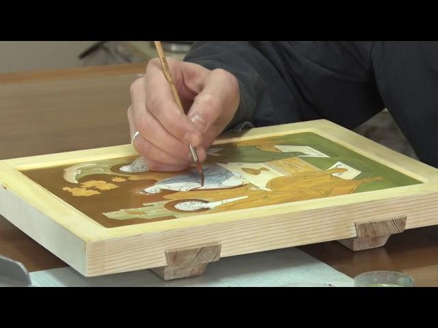 Художник в робе