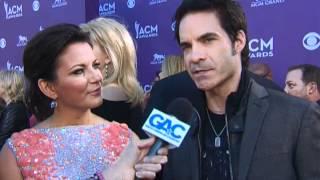 Martina McBride And Patrick Monahan Red Carpet Interview ACM Awards 2012