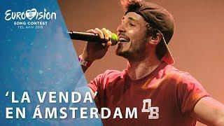 MIKI Canta 'La Venda' En ÁMSTERDAM | Eurovisión 2019