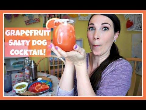 Video GRAPEFRUIT SALTY DOG | Pinterest Drink #94 | MamaKatTV