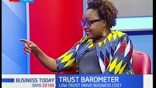 Lorno Irungu on Erdemann Trust Barometer