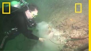 Diver VANISHES In Portal To Maya Underworld   National Geographic