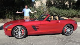 The Mercedes-Benz SLS AMG Roadster Is the Forgotten Mercedes Supercar