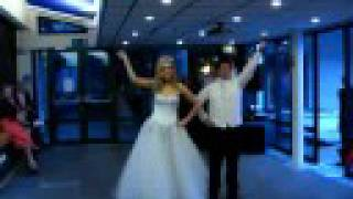 Doctor Who Wedding Dance. Funny Surprise!