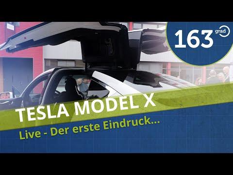 Tesla Model X - Einer der ersten in Deutschland - 4K Deutsch