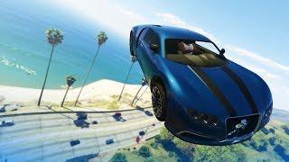 GTA 5 Stunts: Impossible Car Stunt! - (GTA V Stunts & Fails)