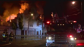 Update: Fire shuts down section of Market Street in Youngstown