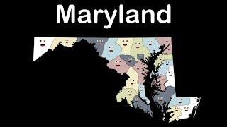 Maryland Geography/Maryland State/Maryland