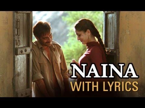 Naina Song With Lyrics Omkara Ajay Devgn Saif Ali Khan Vivek Oberoi Amp Kareena Kapoor