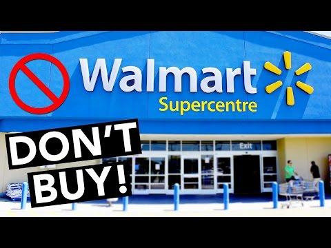 5 Things NOT to Buy at Walmart!