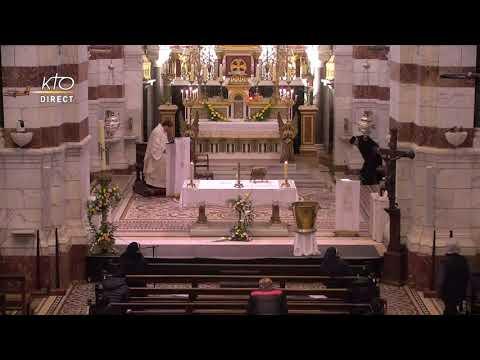 Messe du 12 avril 2021 à Notre-Dame de la Garde
