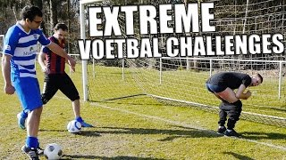 EXTREME VOETBAL CHALLENGES!!