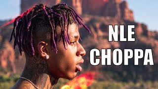 NLE Choppa Interview - 50 Cent's Advice, Challenging Moneybagg Yo, Me vs. Me Album, Herbal Education