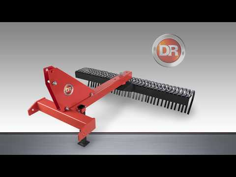 Product Video, DR 72 Inch Tractor Landscape Rake