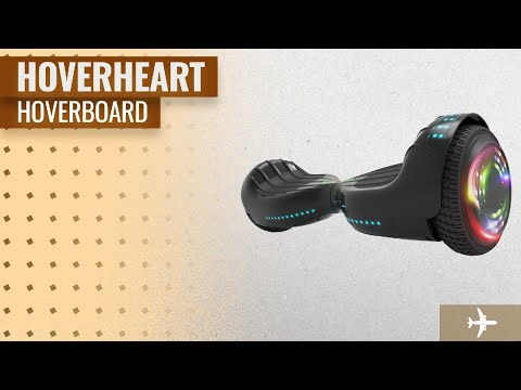 "Hoverheart Hoverboard UL 2272 Certified Flash Wheel 6.5"" Wireless Speaker With LED Light 