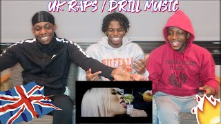 AmericansAfricans React To UK RAPDRILL Music Pt.2 FT. DAVE, DIGGA D, RUSS , & MORE