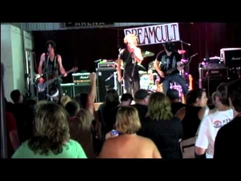 Dreamcult performing Devil's Elevator, Rock Related opening for Warrant Portsmouth OH