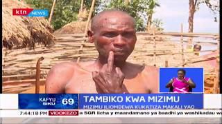 Tambiko kwa mizimu: Wazee wa Marakwet waifanya tambiko iliokumbwa na maporomoko