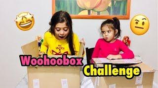 KARDEŞİMLE SÜRPRİZ KUTU CHALLENGE , MYSISTERY SURPRISE BOX SWITCH UP CHALLENGE #woohoobox#challenge