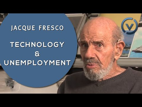Jacque Fresco - Technology & Unemployment - Dec. 12, 2010