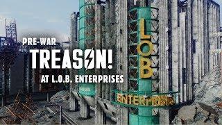 Pre-war Treason at L.O.B. Enterprises - Fallout 3 Lore