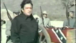 Johnny Cash and Kirk Douglas, live in 1971