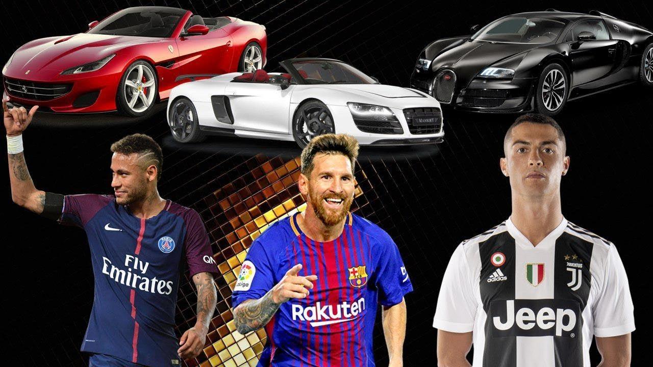 Какие машины покупают топовые футболисты